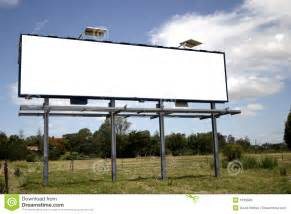 blank billboard royalty free stock images image 1639599