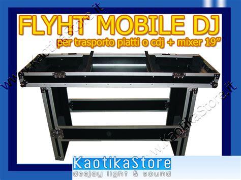 mobili per dj flightcase mobile dj valigia trasporto consolle cdj piatti