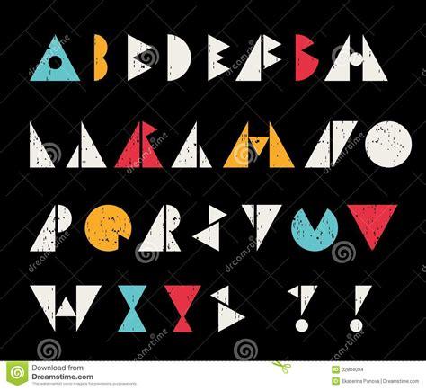 imagenes retro soda letra letras abstractas del alfabeto en estilo retro imagenes