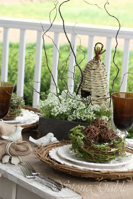 rustic tablescapes rustic nature inspired tablescape tablescape obsession