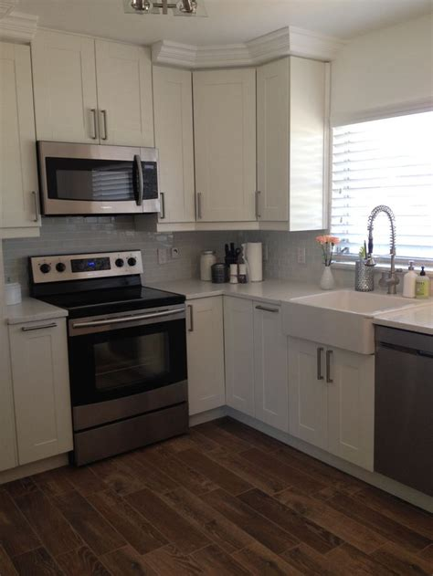 ikea off white kitchen cabinets ikea kitchen adel off white kitchen dining pinterest