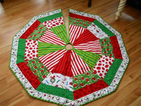 grinch tree skirt reserved for francine quilted tree skirt the grinch trees trees and