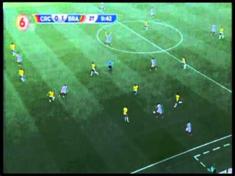 brasil và costa rica le anulan un gol a bryan ruiz en partido de costa rica