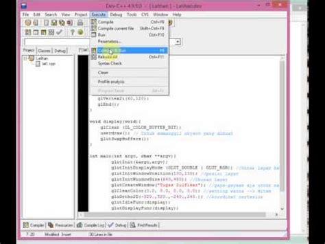 membuat virus dengan dev c full download tutorial membuat titik dengan opengl