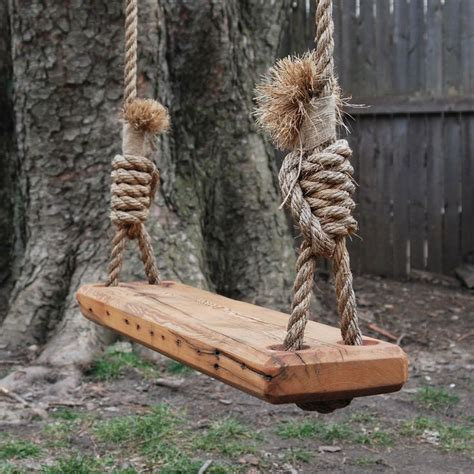 reclaimed wood swing reclaimed wood tree swing sophie pinterest