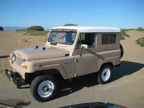 1968 nissan patrol buy used rare vintage 1969 nissan patrol l60 4x4 in san