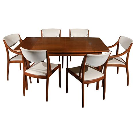 drexel dining room set 1950 drexel parallel dining set at 1stdibs