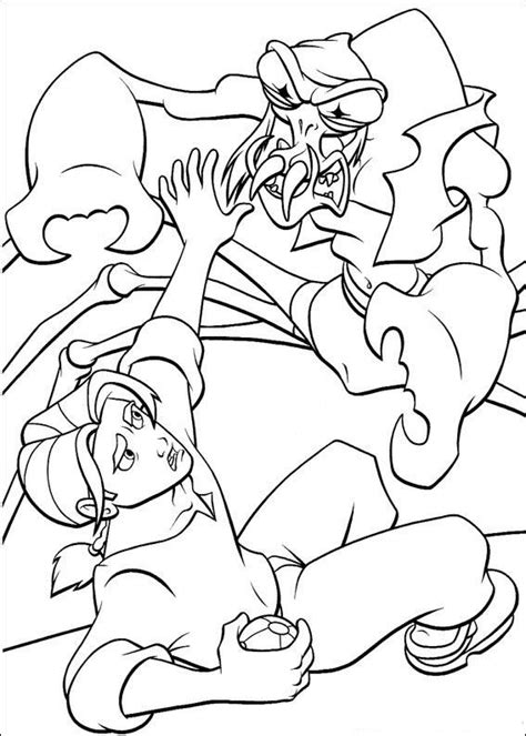 coloring page treasure planet coloring pages 54