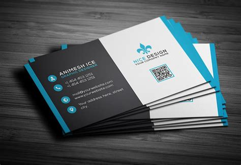 templates psd business 300 best free business card psd and vector templates