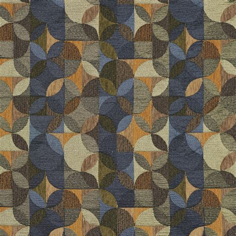 blue and green upholstery fabric green gold and blue geometric chenille upholstery fabric