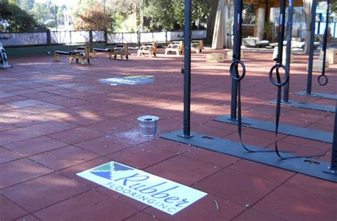 recycled rubber flooring outdoor and