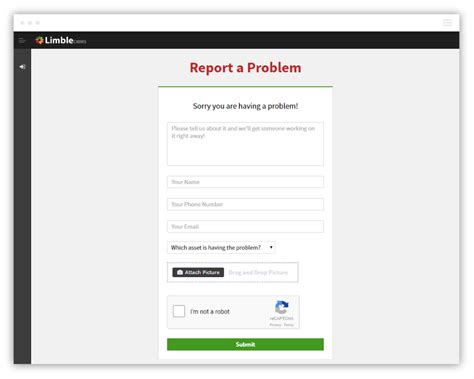 Report A Problem by Cmms Software Modern Mobile And Easy To Use Free 30 Day Trial