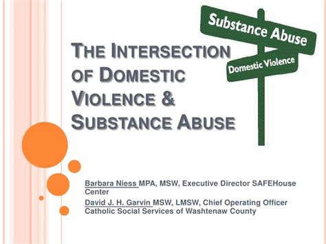 Miami Dade Domestic Violence Search The Intersection Of Domestic Violence And Substance Abuse April 2012