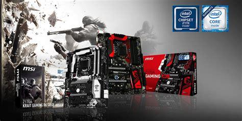 Mainboard Msi Z170a Krait Gaming R6 Siege Atx Lga 1151 1 msi z170a krait gaming r6 siege motherboard announced in ubisoft rainbow six bundle