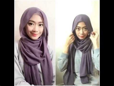 tutorial jilbab emma queen video tutorial hijab pashmina emma queen youtube