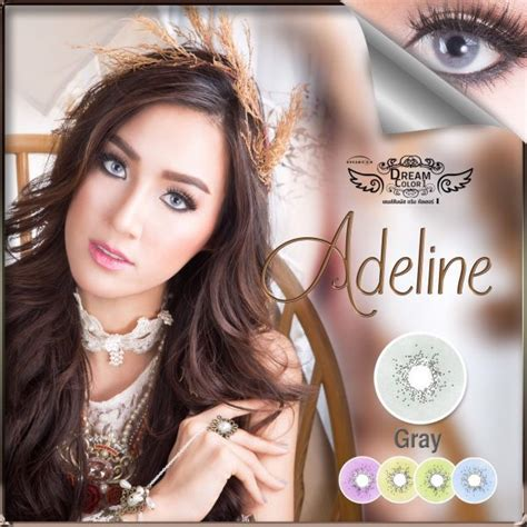 Softlens Dreamcolor Dreamcon Akemi Grey Dan Brown jual softlens dreamcon adeline free ongkir softlensmurahku