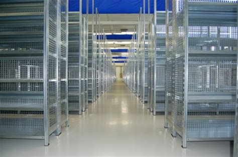 scaffali metallici industriali scaffalature zincate