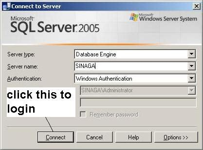 cara membuat query pada sql server 2005 silvi azza cara membuat user baru dalam sql server 2005