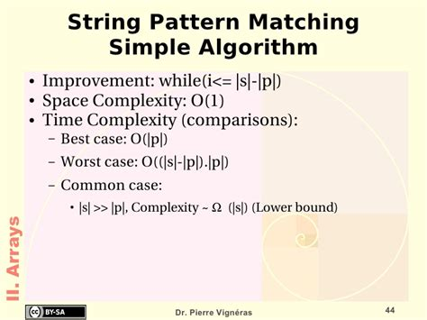 string pattern matching algorithm in java data structures and algorithms