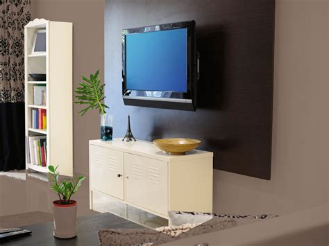 how to hang a flat screen tv from the ceiling how to hang a flatscreen tv australian handyman magazine