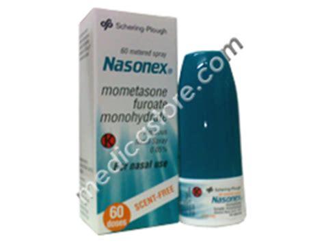 Obat Nasonex nasonex nasal spray 60 s