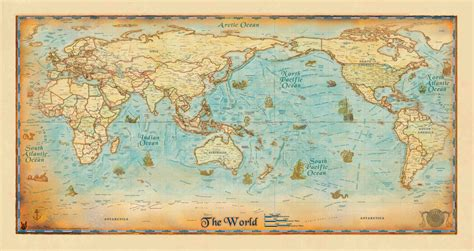 world map image pacific centered antique world wall map pacific centered zoom