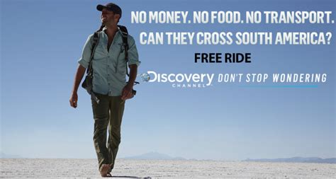 Ride Free free ride on discovery channel