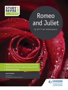 study and revise for 1471853667 romeo and juliet by william shakespeare by sheldon jane 9781471853661 brownsbfs