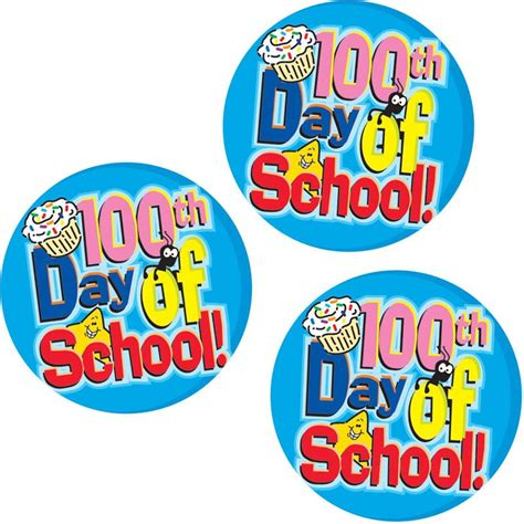 Aufkleber Schule by 100th Day Of School Stickers