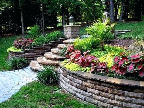landscaping ideas for sloped backyard landscaping ideas for slope landscaping ideas for slopes