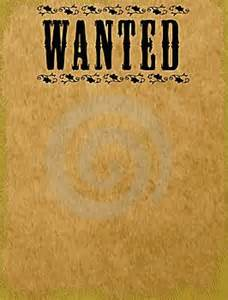 a wanted poster template medium other and photos on