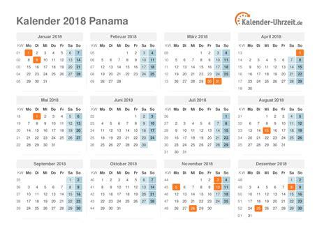 Panama Kalendar 2018 Feiertage 2018 Panama Kalender 220 Bersicht