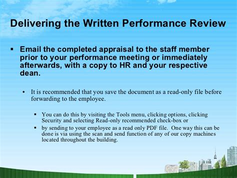 Ul Mba Program Review by Performance Appraisals Hr Ppt Mba