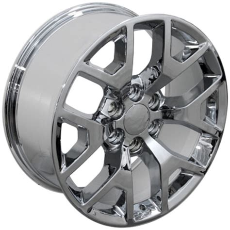 20 gmc wheels gmc 1500 style replica wheel chrome 20x9
