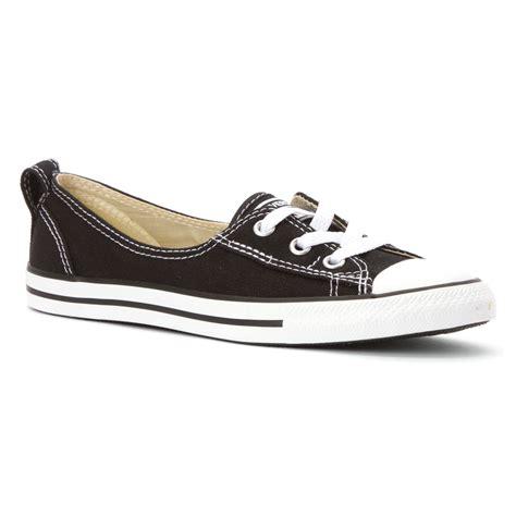 lace sneakers converse chuck ballet lace sneaker in black lyst