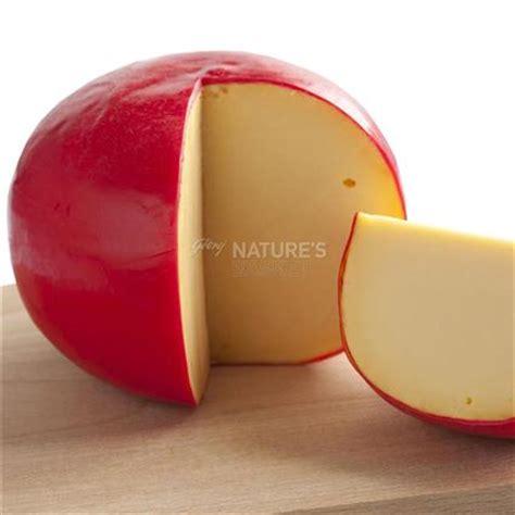 Cheesy Edam edam cheese kroon naturesbasket co in