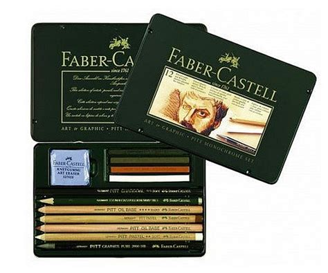 Cat Acrylic Faber Castell faber castell pitt monochrome set of 12 from supplies