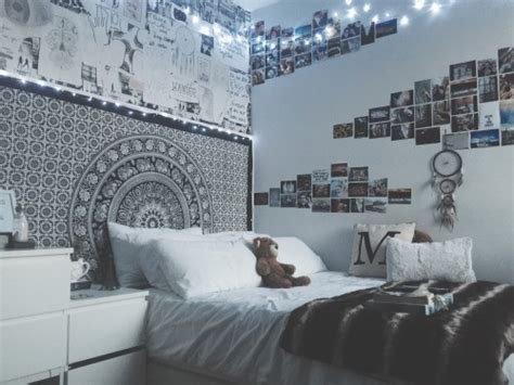 fairy lights bedroom tumblr