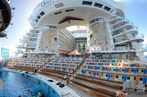 biggest boat in the world tour the world s five biggest cruise ships