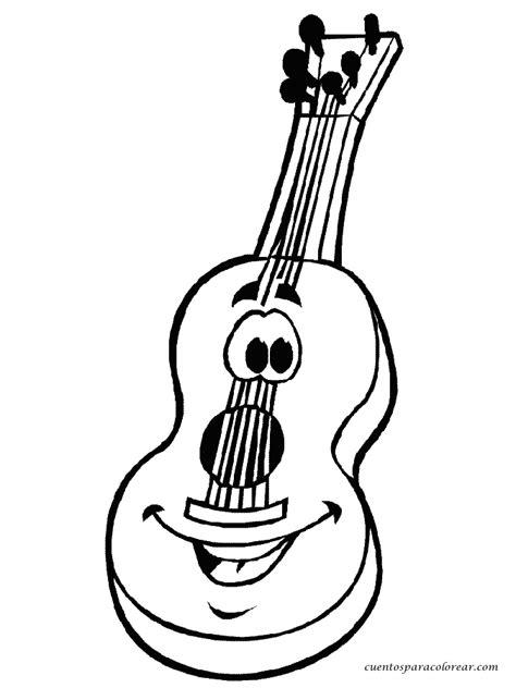 imagenes de guitarras rockeras para colorear dibujos para colorear m 250 sica instrumentos musicales