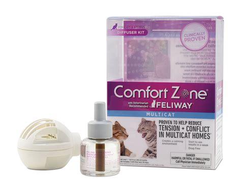 comfort zone feliway diffuser comfort zone feliway multicat diffuser and refill diffuser