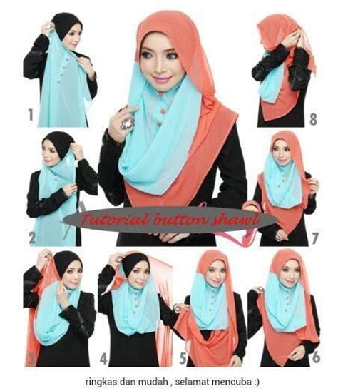 tutorial hijab intan khasanah 17 best images about diy hijab on pinterest simple