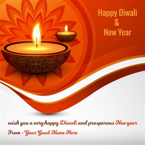 happy diwali and new year messages happy diwali and new year greetings image with my name