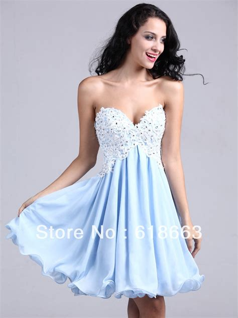 more details about 8th grade formal dresses white naf dresses pictures in 2019 lh00052 light blue sweetheart a line 8th grade graduation dress homecoming dresses