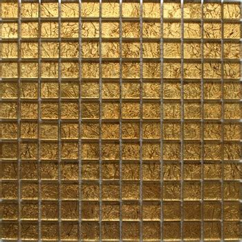 piastrelle metallo mosaico vetro piastrella 23x23x8mm oro metallo mth30010m