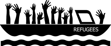 refugee relief bainbridge island north kitsap interfaith - Refugee Boat Clipart