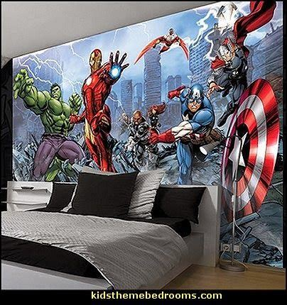 marvel comic bedroom decor marvel avengers assemble comic wallpaper mural random