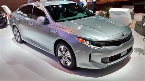 New Kia Optima Hybrid 2017 Kia Optima Hybrid In Auto Show Debut And Features