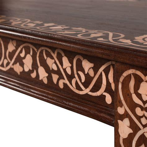 bone inlay coffee table bone inlay table inlaid bone coffee table aoi