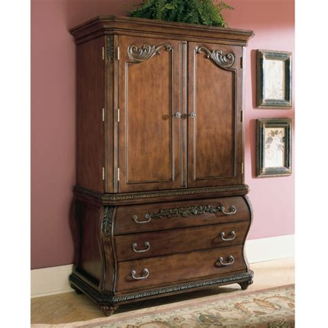 armoire ashley chateau frontenac armoire by ashley furniture b533 49bt